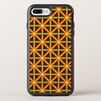 Funky Green & Orange Pattern OtterBox Symmetry iPhone 8 Plus/7 Plus Case