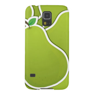 Funky green pears galaxy s5 cases