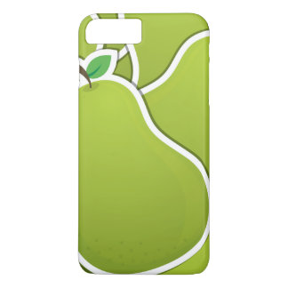 Funky green pears iPhone 7 plus case
