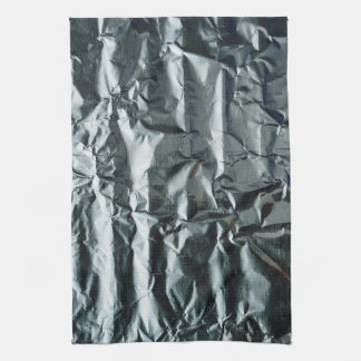 Funky Grey Crinkled Appearance 4Amie Kitchen Towel
