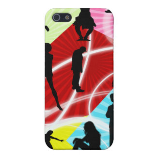 funky groovy  Pattern Iphone4 casing iPhone 5/5S Cover