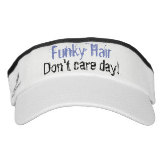 Funky Hair Don't Care Day Knit Visor