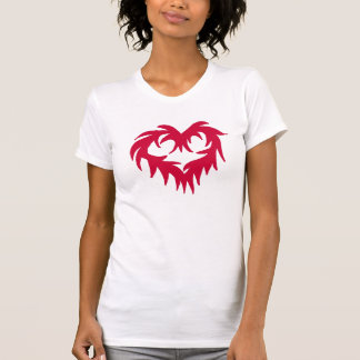 Funky Heart  lady's shirt
