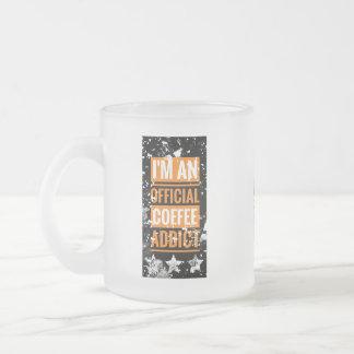 Funky I'm an Official Coffee Addict Mug