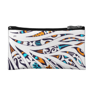 Funky Ink Whimsical Pattern Cosmetic Bag
