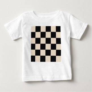 Funky Khaki Black Blocks Baby T-Shirt