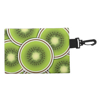 Funky kiwi fruit slices accessories bags