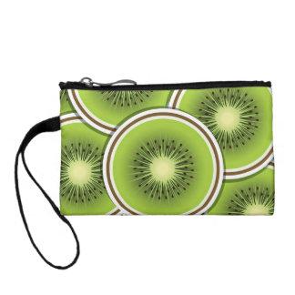 Funky kiwi fruit slices change purses