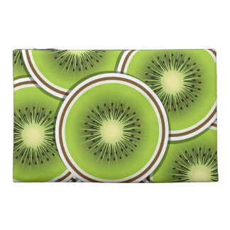 Funky kiwi fruit slices travel accessories bag
