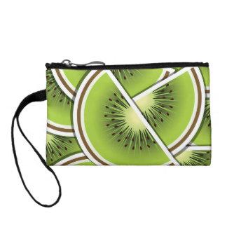 Funky kiwi fruit wedges coin purses