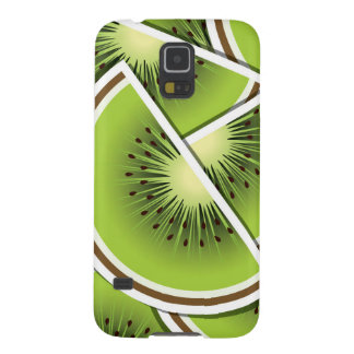 Funky kiwi fruit wedges galaxy s5 cases