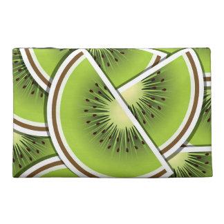 Funky kiwi fruit wedges travel accessory bags