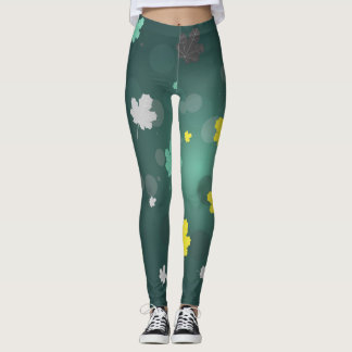 Funky Leaf Leggings