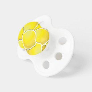 Funky lemon baby pacifier