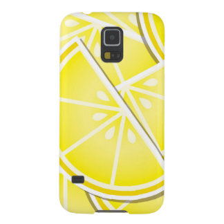 Funky lemon wedges! galaxy s5 cases