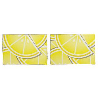 Funky lemon wedges! pillowcase