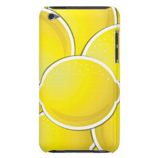 Funky lemons barely there iPod cases