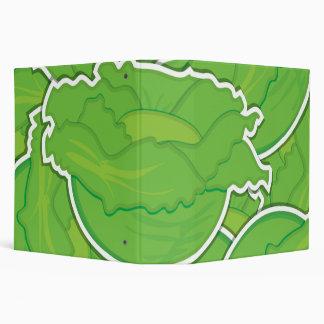 Funky lettuce binder