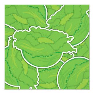 Funky lettuce card
