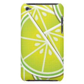 Funky lime wedges iPod touch case