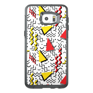 Funky Loud Memphis Design OtterBox Samsung Galaxy S6 Edge Plus Case