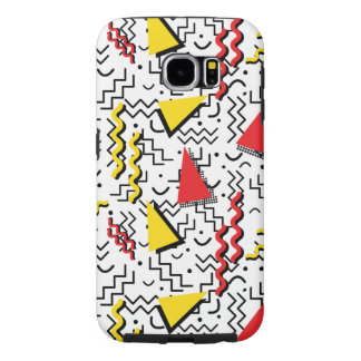 Funky Loud Memphis Design Samsung Galaxy S6 Cases