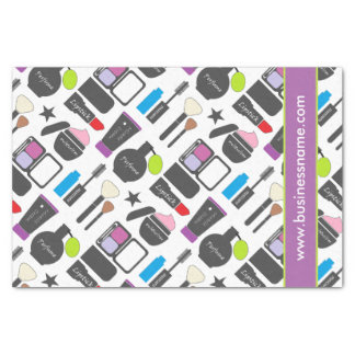 Funky Makeup Collage Tissue Paper
