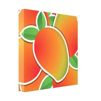 Funky mango canvas print