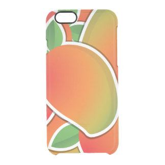 Funky mango clear iPhone 6/6S case