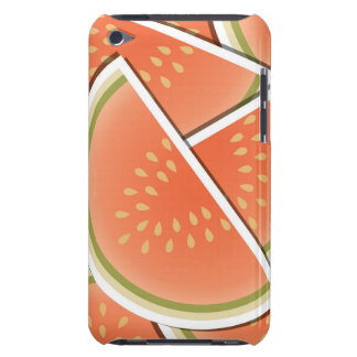 Funky melon wedges iPod touch case
