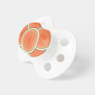 Funky melons baby pacifiers