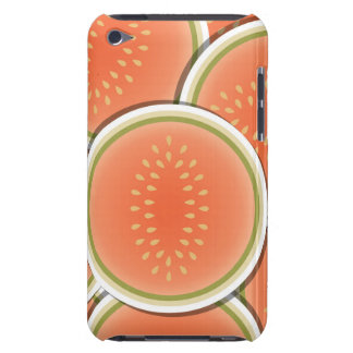 Funky melons barely there iPod case