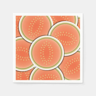 Funky melons disposable napkins
