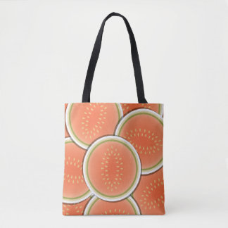 Funky melons tote bag