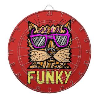 """Funky"" Metal Cage Dartboard"
