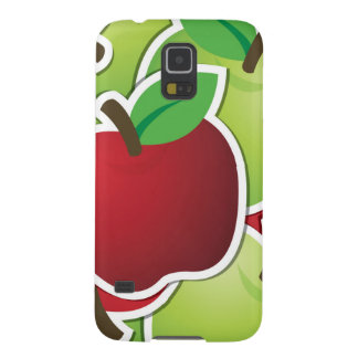 Funky mixed apples galaxy s5 cases