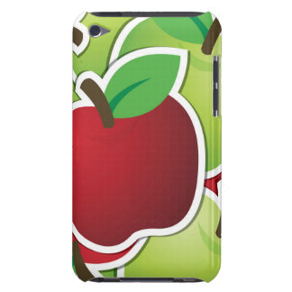 Funky mixed apples iPod touch case