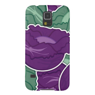 Funky mixed cabbage galaxy s5 cases