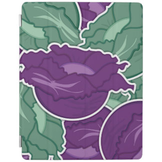 Funky mixed cabbage iPad cover