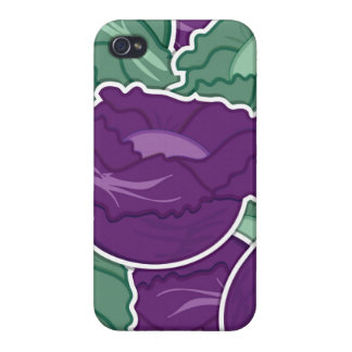 Funky mixed cabbage iPhone 4 case