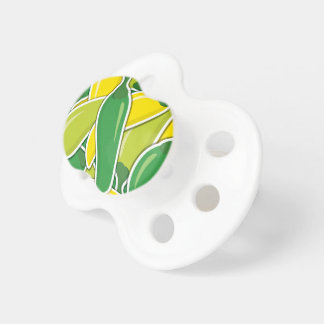 Funky mixed chilli peppers baby pacifier
