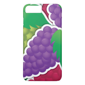 Funky mixed grapes iPhone 7 plus case