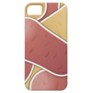 Funky mixed potato iPhone 5 cases