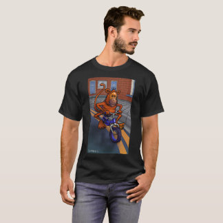 Funky monkey  bicycle T-Shirt