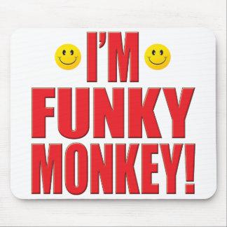 Funky Monkey Life Mousepad