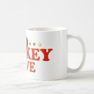 Funky Monkey Love Mugs