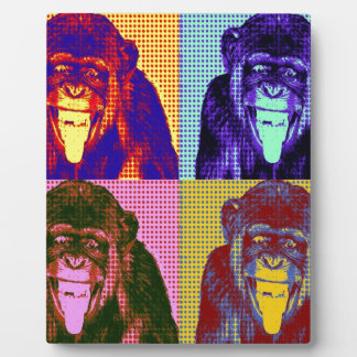 Funky Monkey Plaque