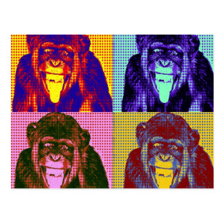 Funky Monkey Post Cards