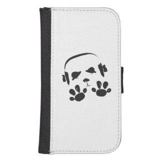 Funky Music Panda Samsung S4 Wallet Case