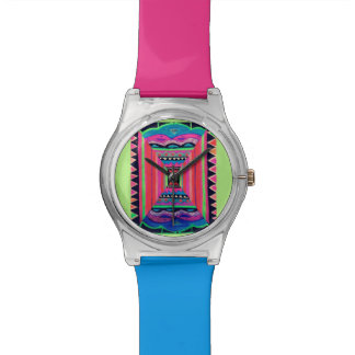 Funky Neon Illusion Watch